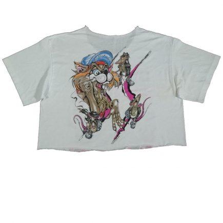 faster pussycat vintage 80s 1988 concert tour shirt back of shirt