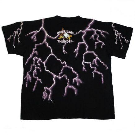 american thunder daytona bike week 94 vintage t shirt back