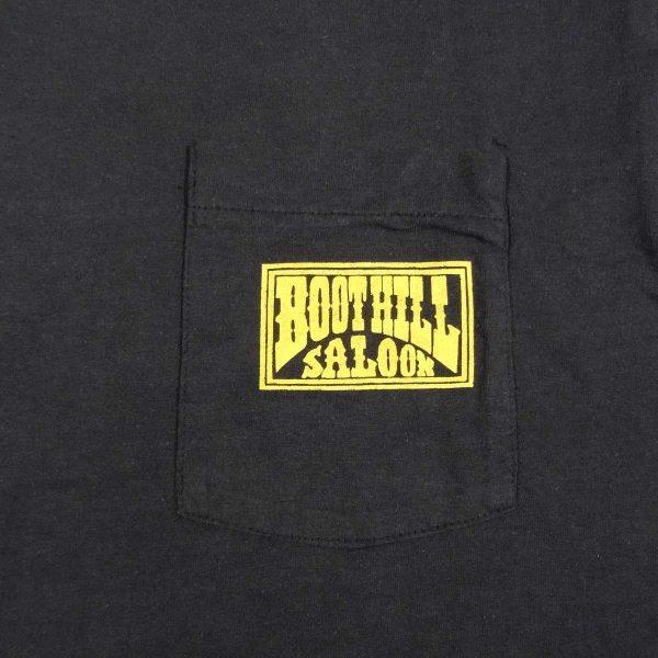 boot hill saloon daytona bike week 1988 vintage t shirt chest pocket