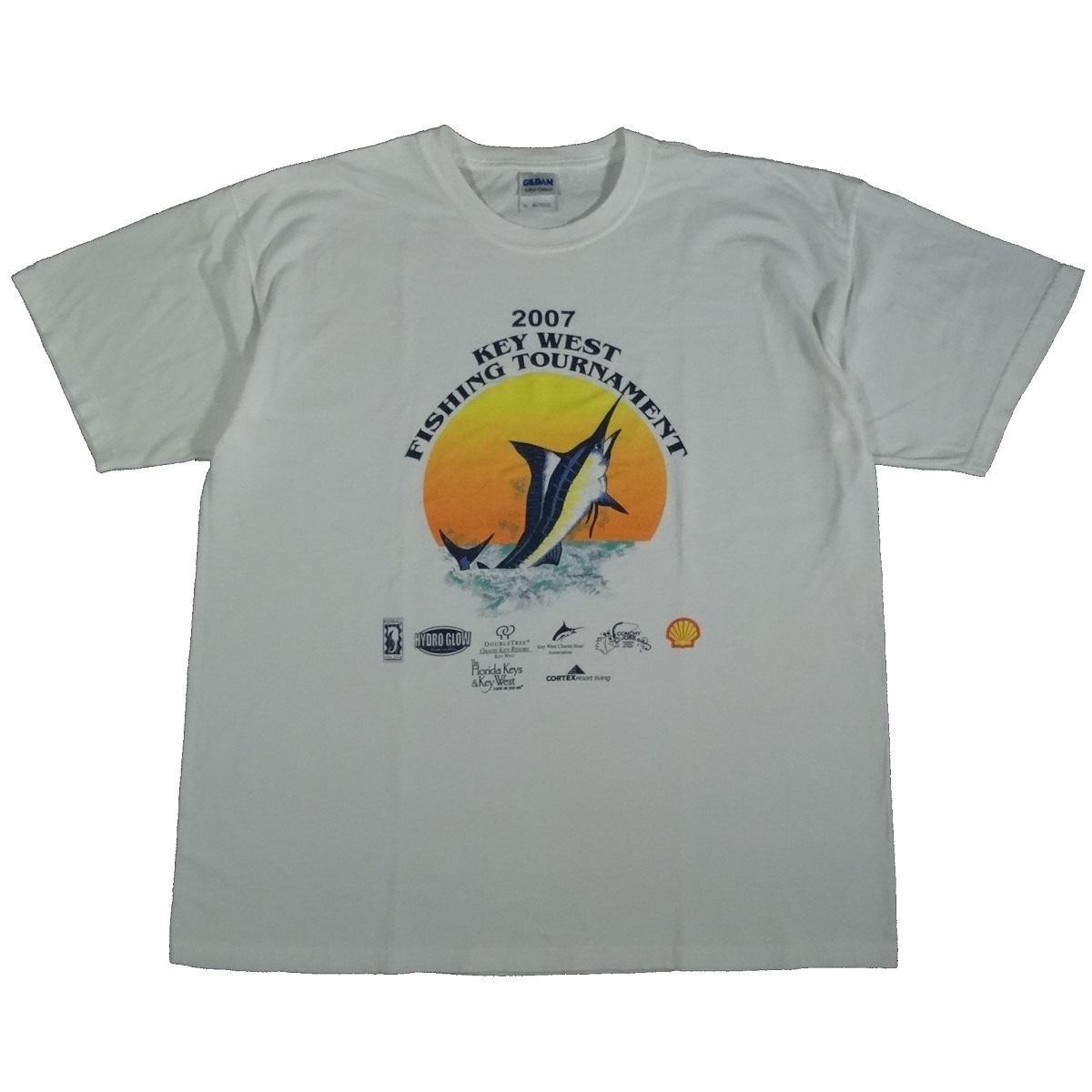 key west fishing tournament 2007 t shirt front