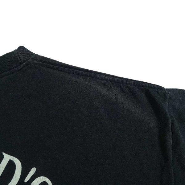 valparaiso indiana heavy metal harley davidson vintage 90s t shirt fade mark back right shoulder
