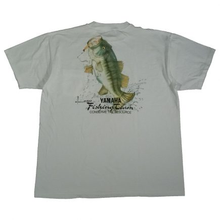 yamaha fishing team vintage 90s shirt back