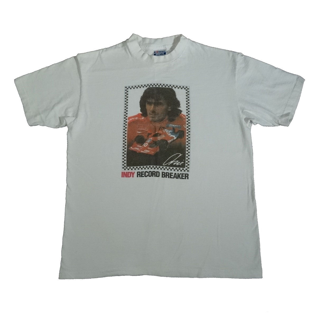 Arie Luyendyk vintage 90s t shirt front