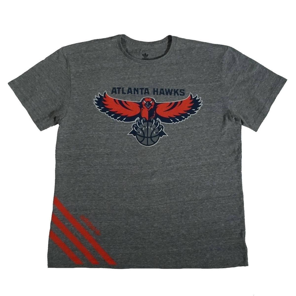 atlanta hawks adidas rayon blend t shirt front