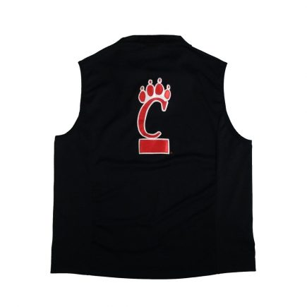 jordan cincinnati bearcats vintage shooting shirt back