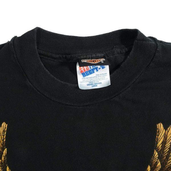 new haven ct harley davidson vintage 90s t shirt collar size tag