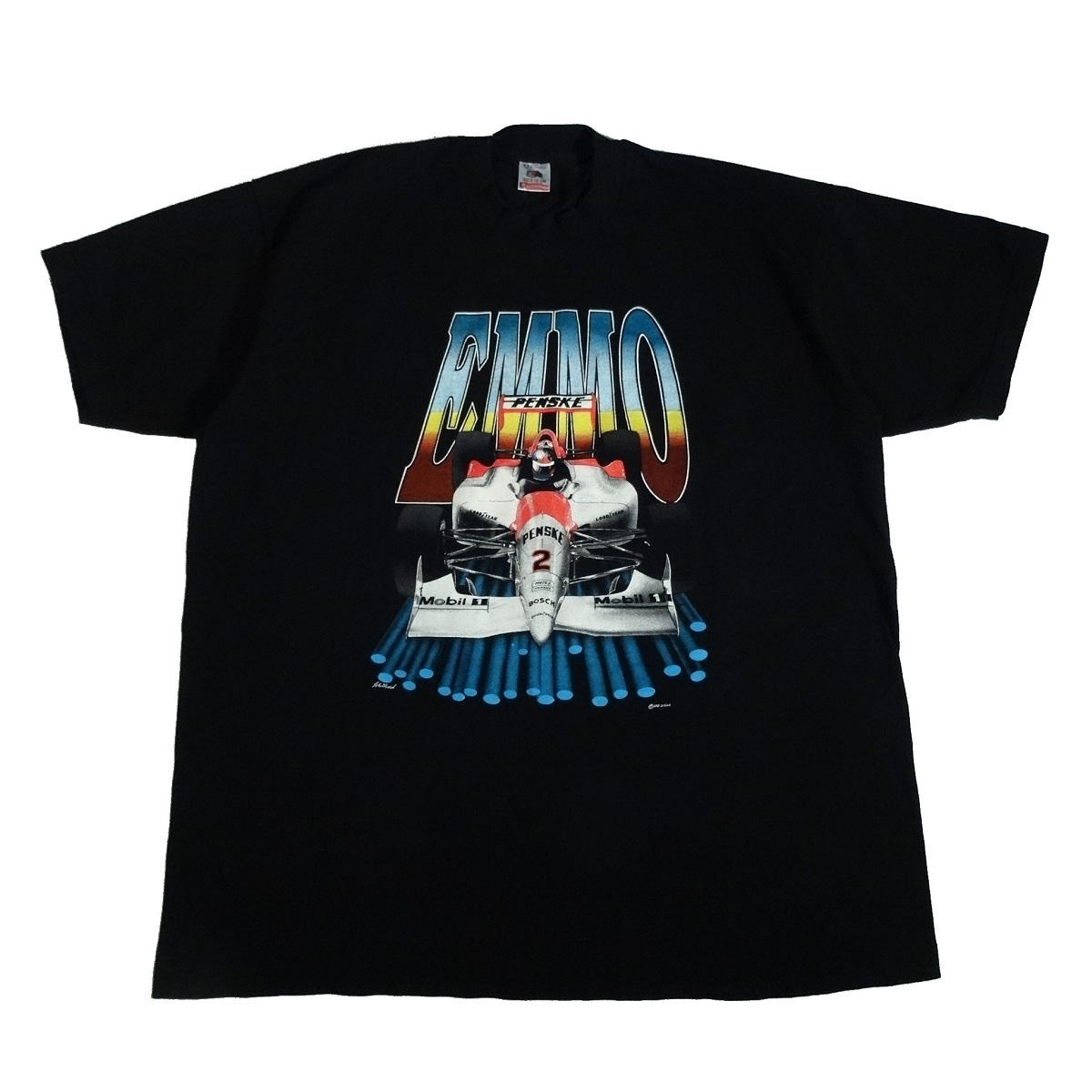 emerson fittipaldi emmo vintage 90s t shirt front
