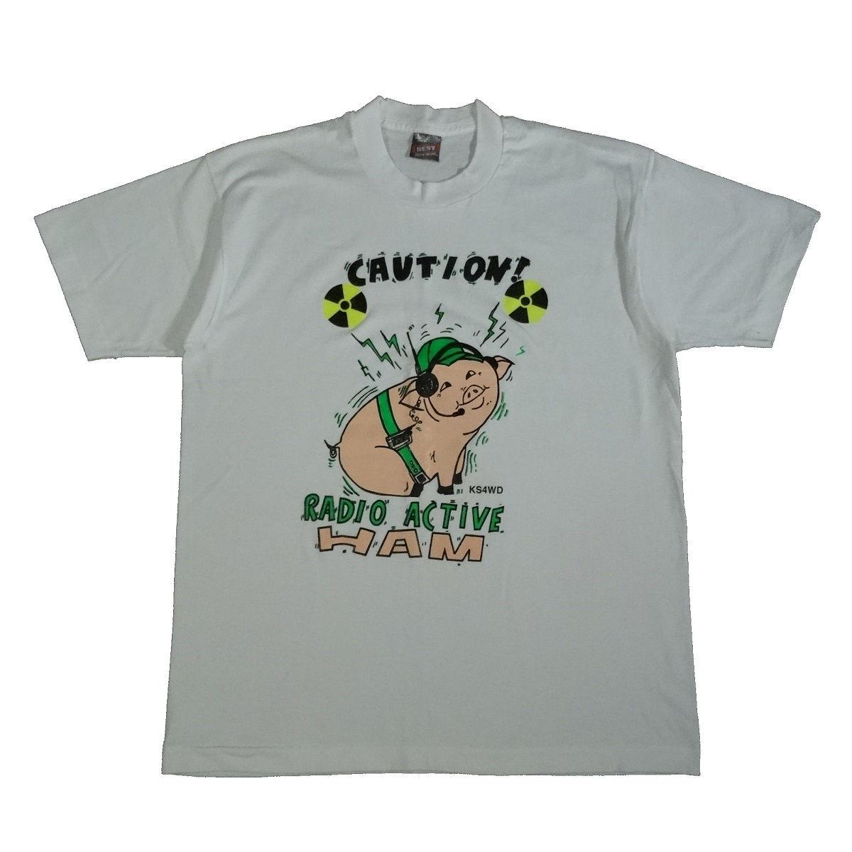 amateur ham radio vintage 80s 90s t shirt front