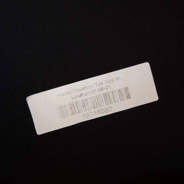 bahamas harley davidson t shirt barcode sticker