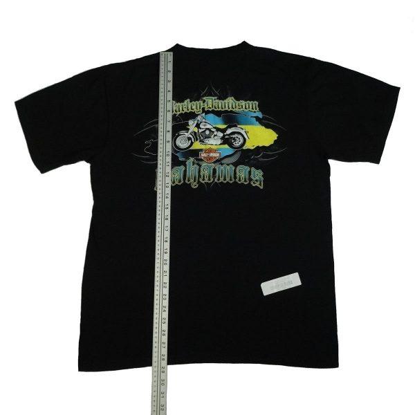 bahamas harley davidson t shirt length measurement