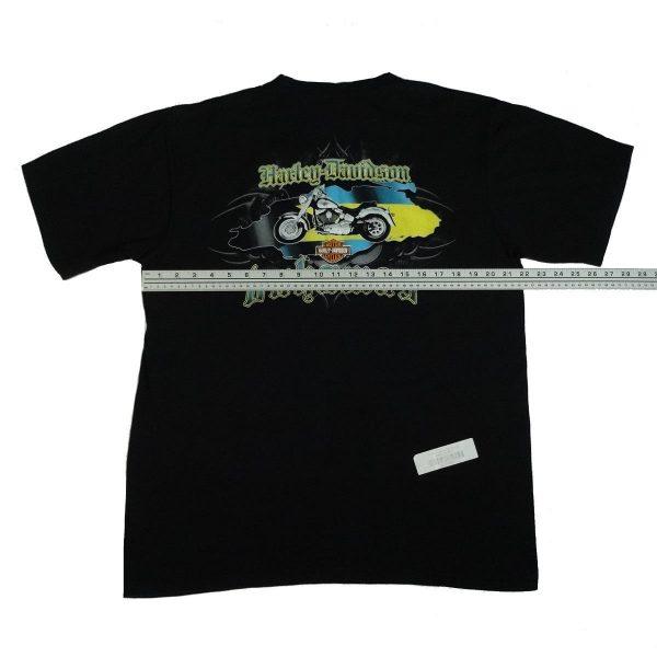 bahamas harley davidson t shirt width measurement