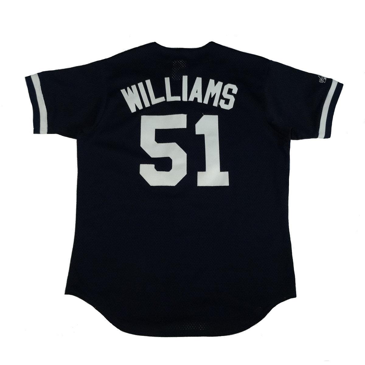 bernie williams yankees vintage majestic jersey back