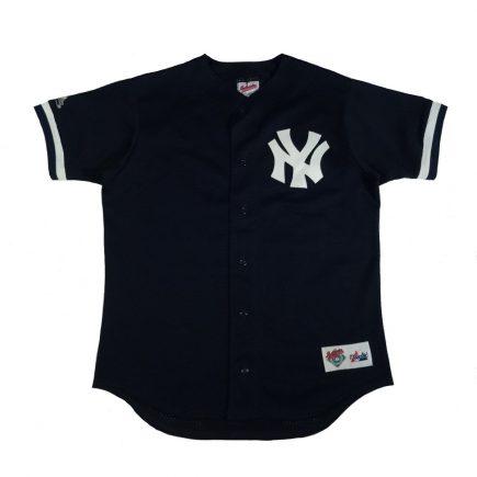 bernie williams yankees vintage jersey front