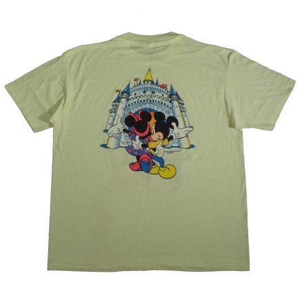 mickey and minnie mouse magic kingdom florida vintage shirt back