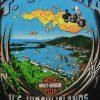 st thomas virgin islands harley davidson t shirt close up graphic