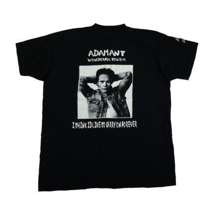 adam ant wonderful tour vintage concert t shirt back