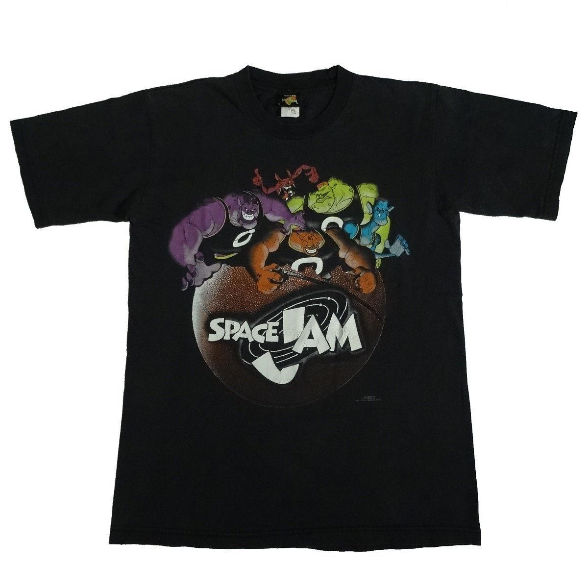 space jam monstars vintage 90s t shirt front
