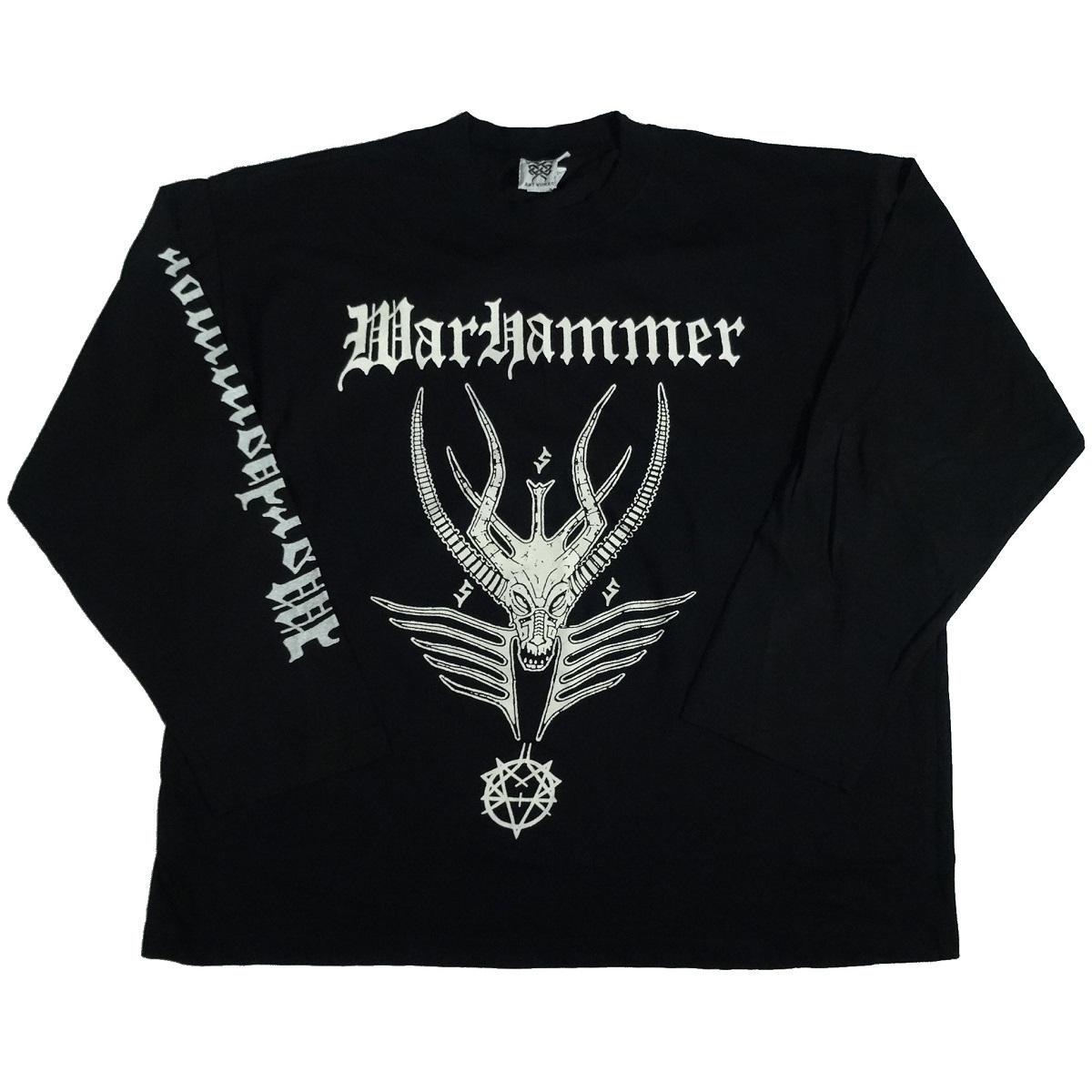 warhammer hellhammer tribute band vintage concert shirt front