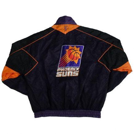 phoenix suns vintage pro player jacket back