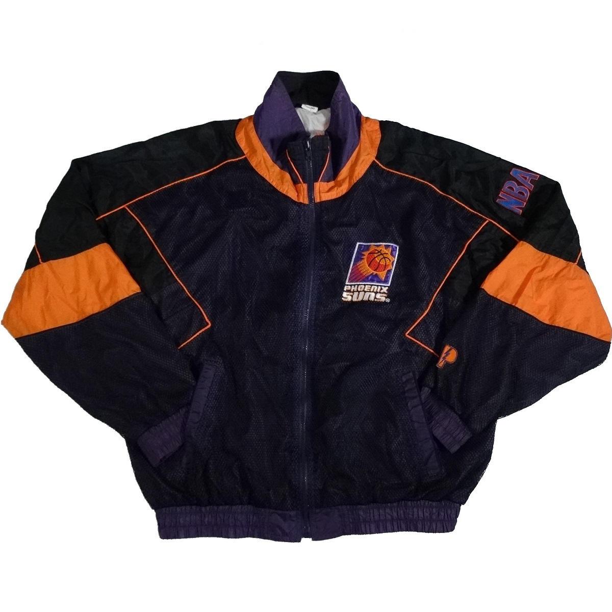 phoenix suns vintage pro player jacket front