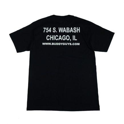 buddy guy legends chicago blues club t shirt back