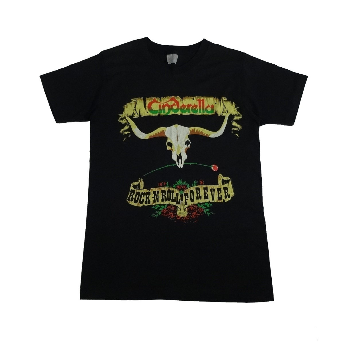 cinderella long cold winter tour vintage 80s t shirt front