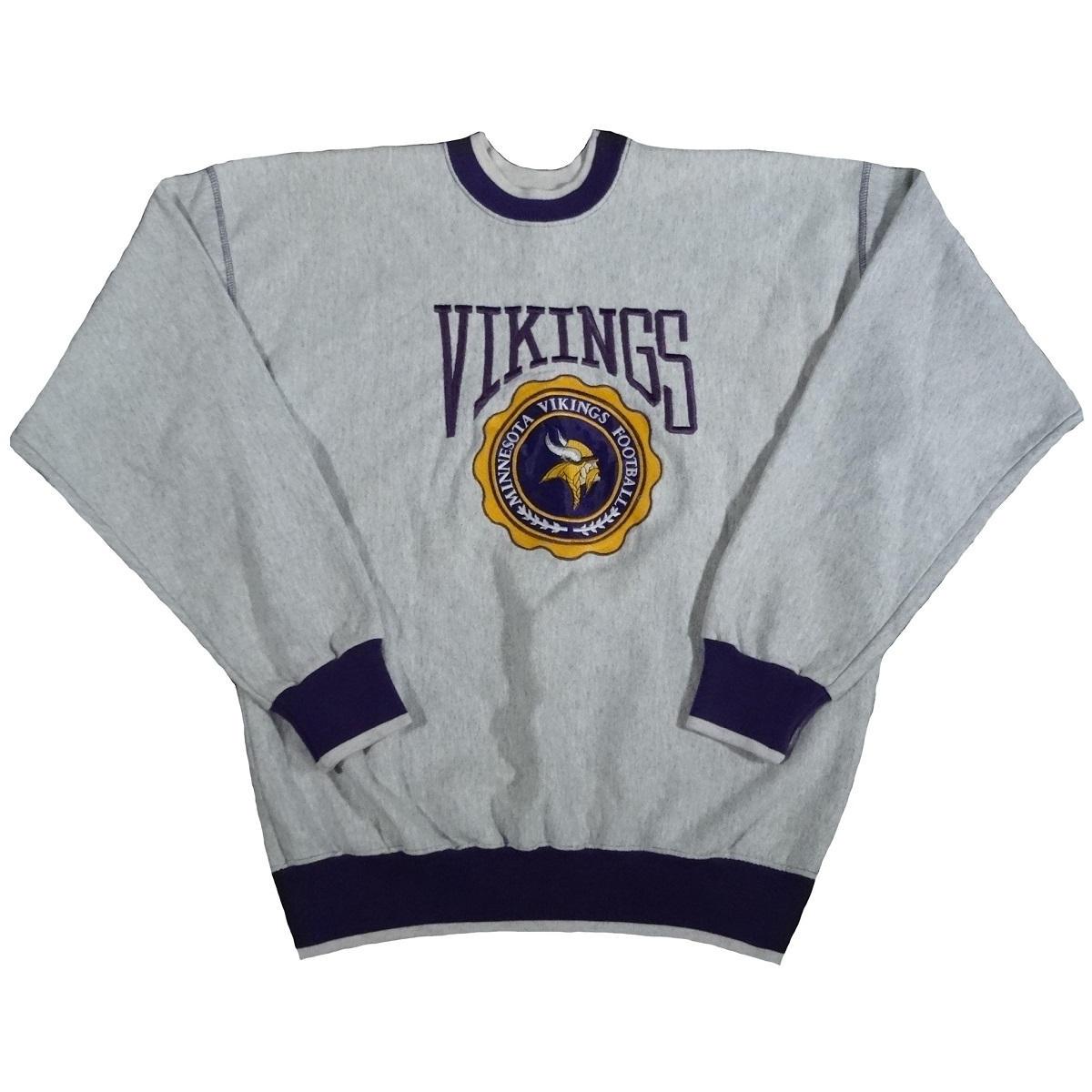minnesota vikings vintage the game sweatshirt front