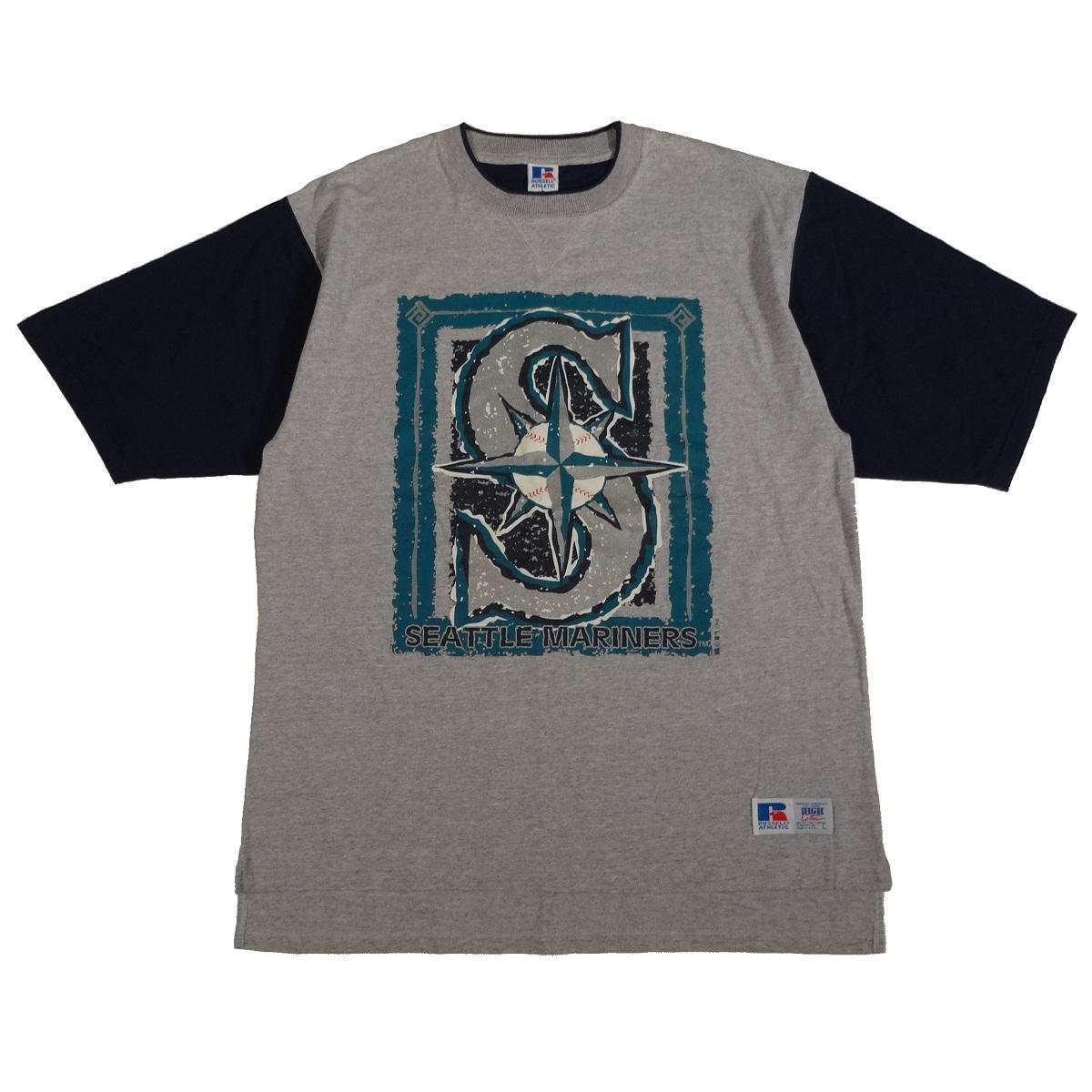 seattle mariners vintage 90s t shirt 1994 front