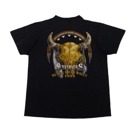 3d emblem sturgis 1993 vintage t shirt back
