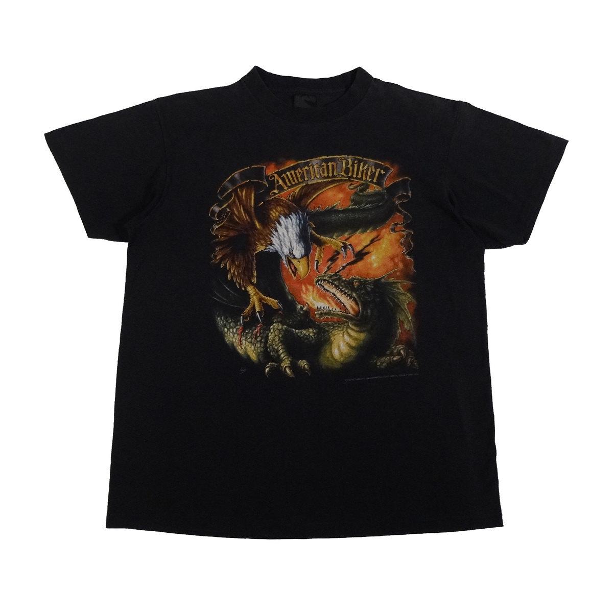 3d emblem sturgis 1993 vintage t shirt front