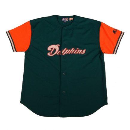 dan marino miami dolphins vintage starter jersey front