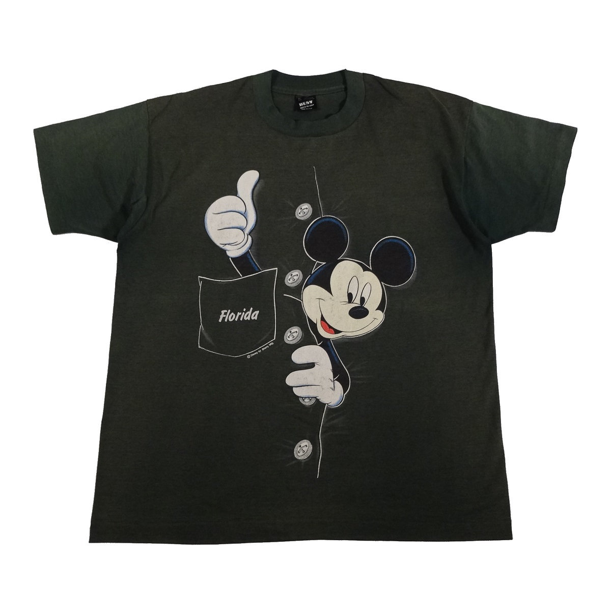 mickey mouse florida sherry vintage t shirt front