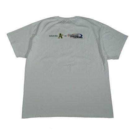 oakland athletics comcast sga t shirt back