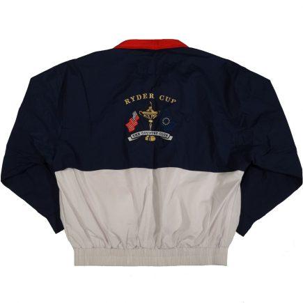 ryder cup country club 1999 vintage jacket back