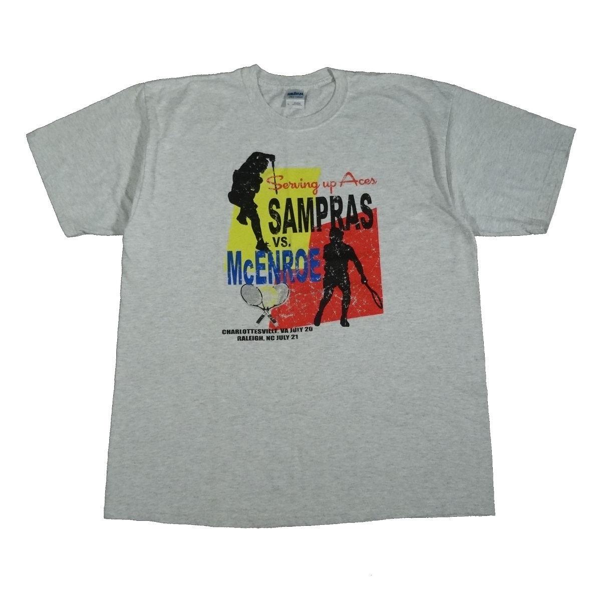 sampras mcenroe serving aces 2007 t shirt front