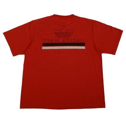team adidas vintage 80s t shirt back