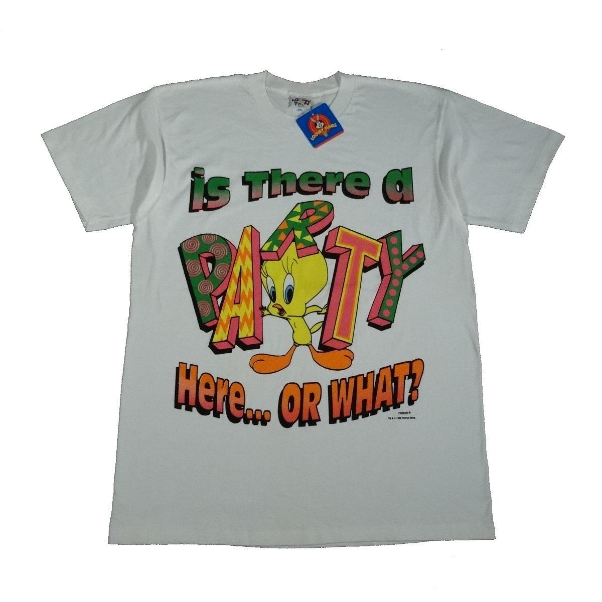 tweety bird freeze vintage 90s t shirt front