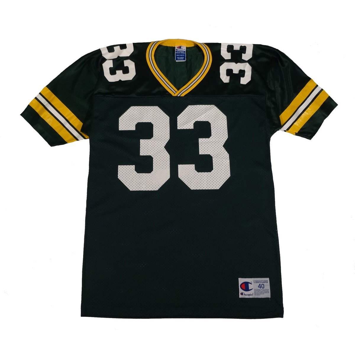 william henderson green bay packers champion jersey front