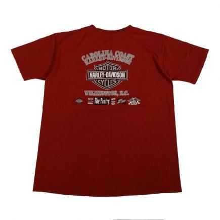 wilmington nc harley davidson vintage battle ride t shirt back