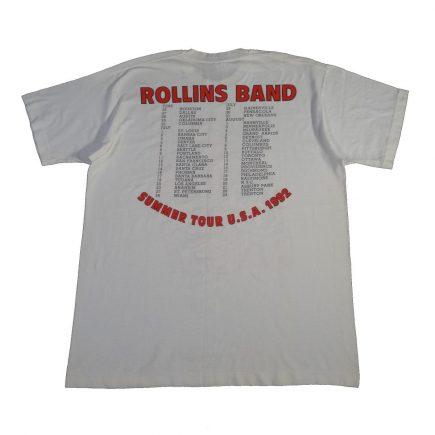 henry rollins band summer tour 1992 vintage t shirt back
