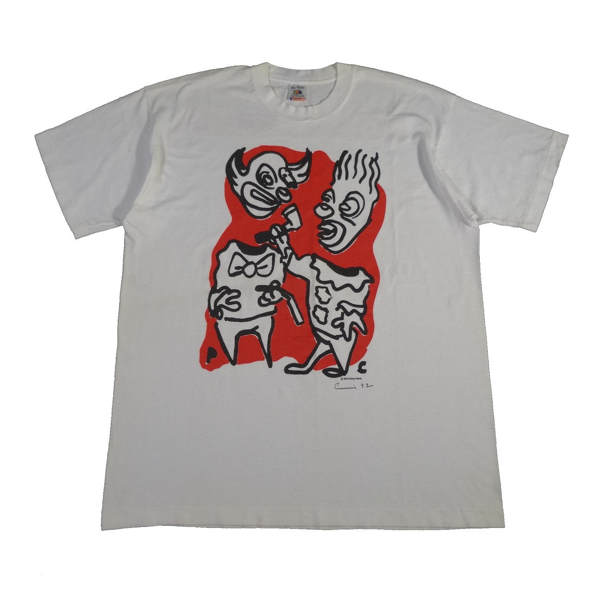 henry rollins band summer tour 1992 vintage t shirt front