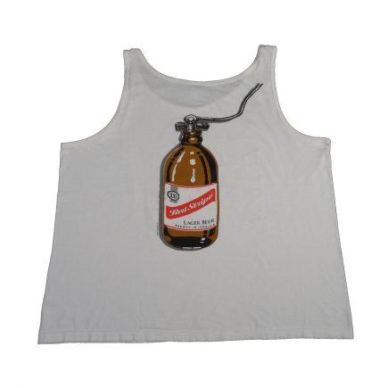 jamaica red stripe beer diver vintage shirt tank top back