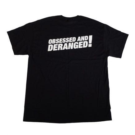 kmfdm uaioe obsessed deranged t shirt back