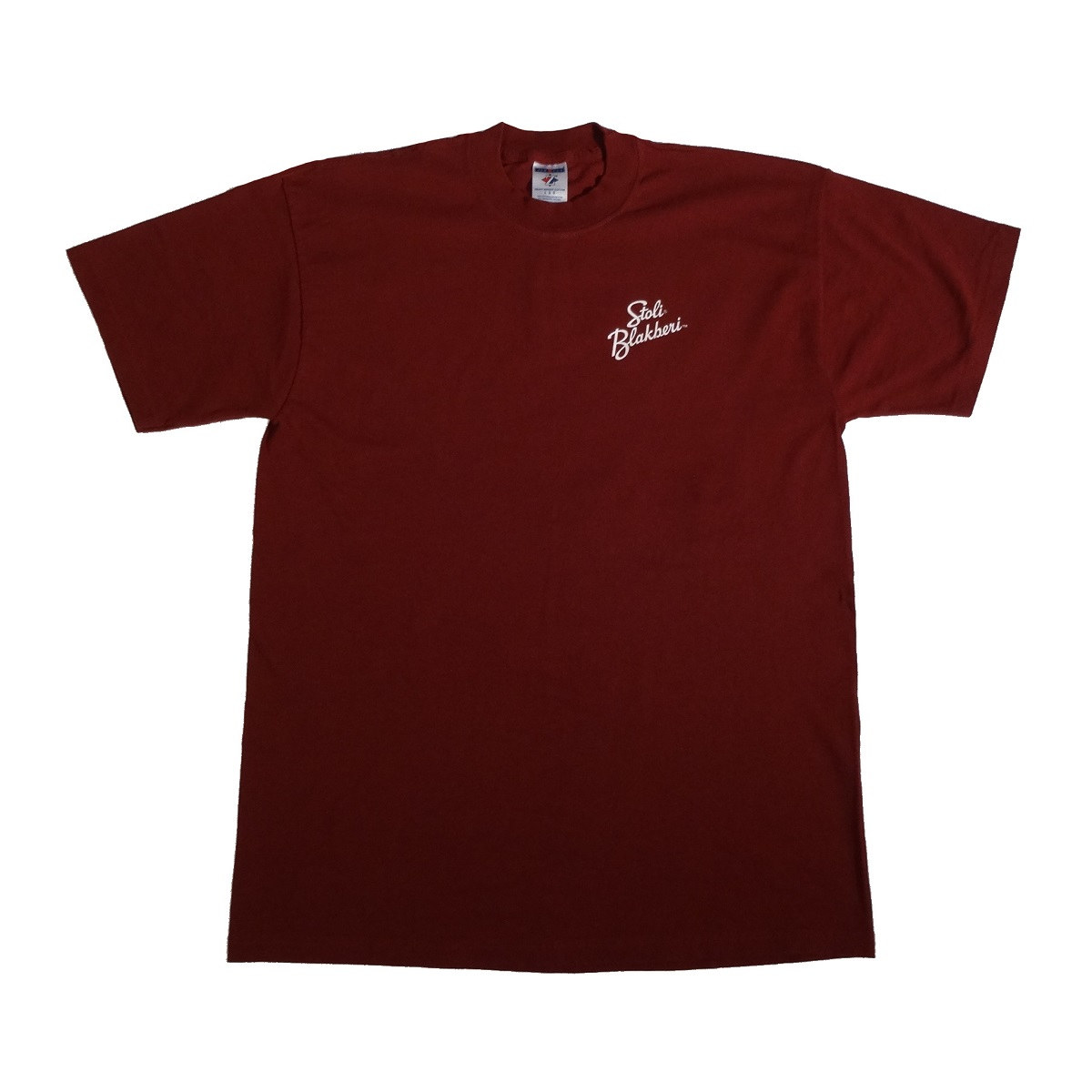 stoli blackberry vodka promo t shirt front